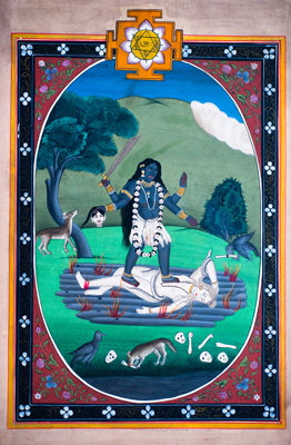 Lord Shiva And Durga