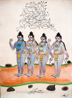 Four Kumaras - Sanaka, Sanandan…
