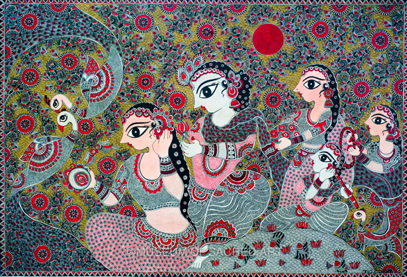 Radha-krishna And The Gopis