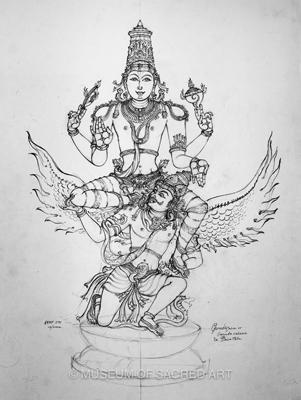 Garuda Vahana