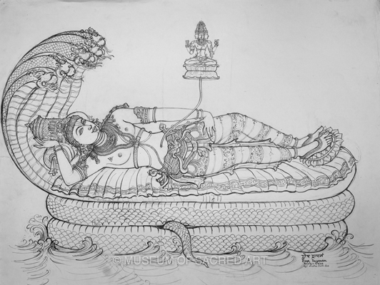 Sesa Sayanam - Snake-bed Of Lord Vishnu