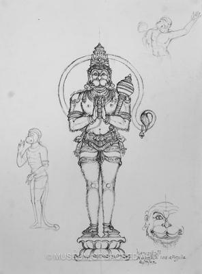 Hanumanji, Navatala 108 Angula