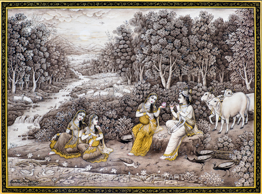 Radha Krishan and the Gopis