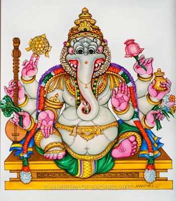 Sri Simha Ganapati