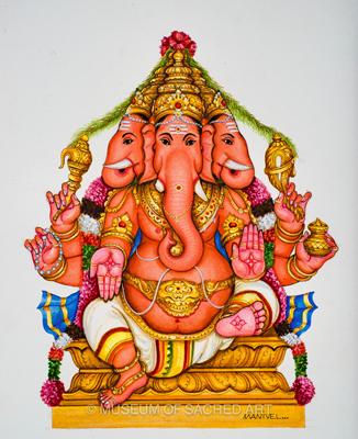Sri Trimukha Ganapathi