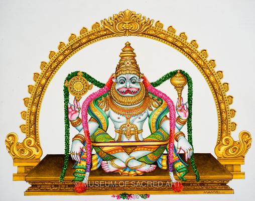 Sri Yoga Narasimha Avatara Moorthi
