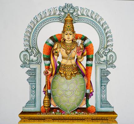 Sri Koorma Avatara Moorthi