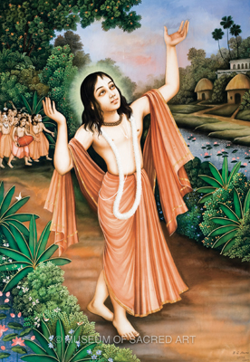 Lord Chaitanya Dancing in Ecstacy
