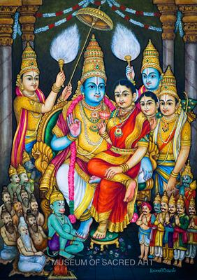 Sri Ramar Pattabhishekam