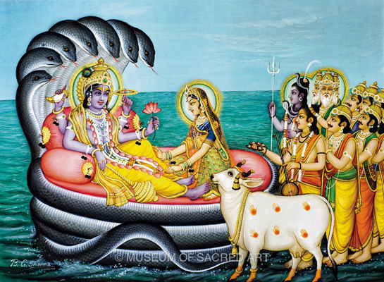 Vishnu Receives The Demigods