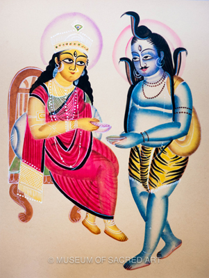 Siva And Parvati