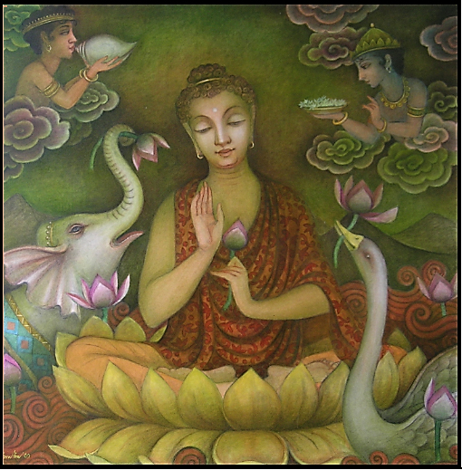 Buddha , the Celebration of Nirvana