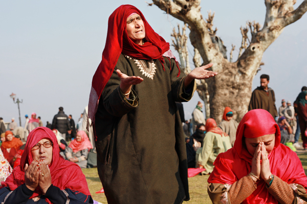 Women at Hazratbal