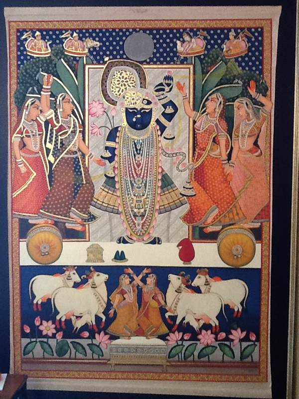Shrinathaji And The Gopis