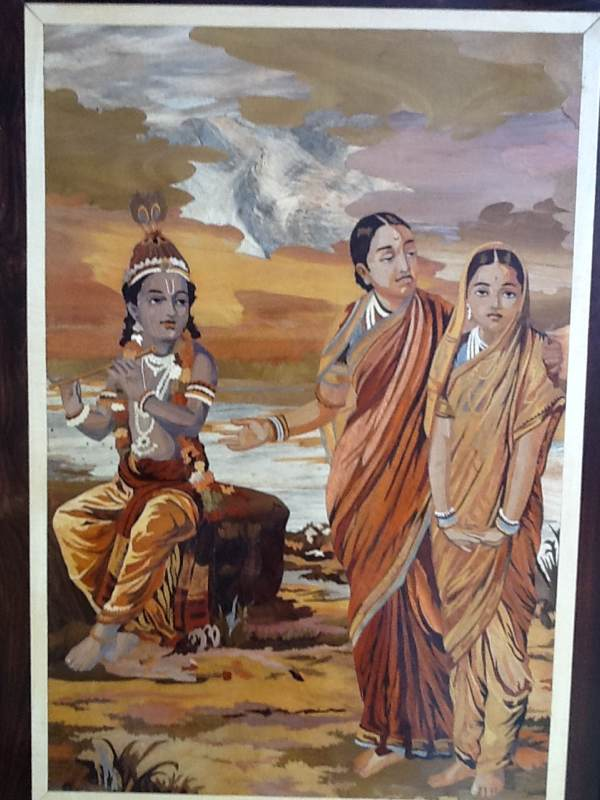 Nanda, Yashoda And Krishna