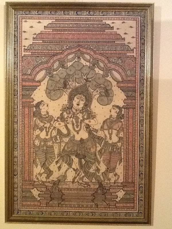 Krishna Plays His Flute With The Gopis