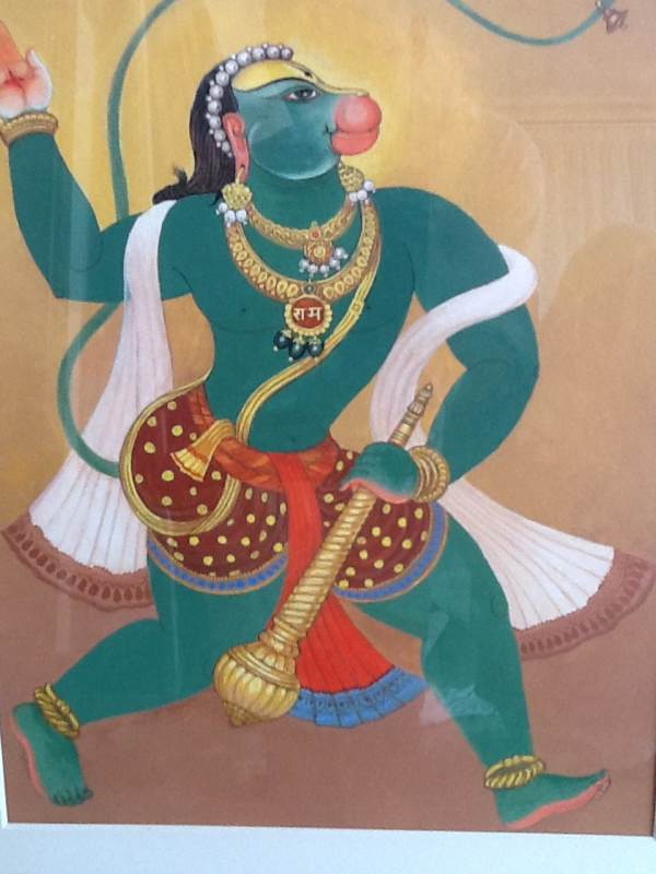 Hanuman, The Beloved Monkey God