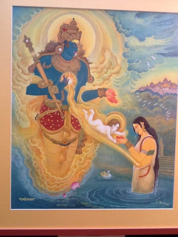 The Birth of Yudhistara