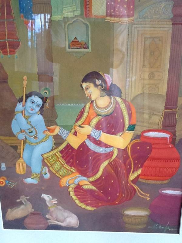 Mother Yashoda & Bal Krishna