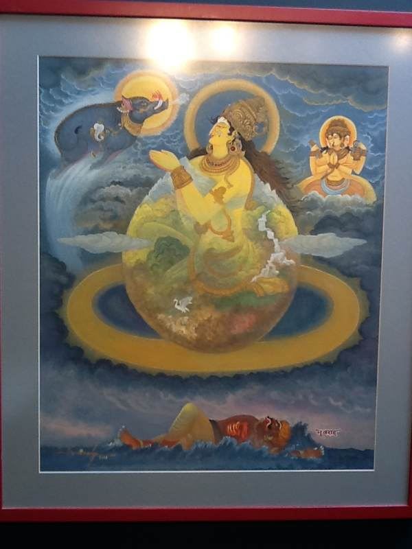 Varaha Resucues the Earth Goddess