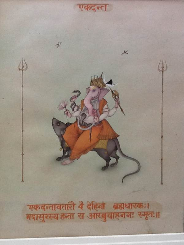 Ganesha On A Rat