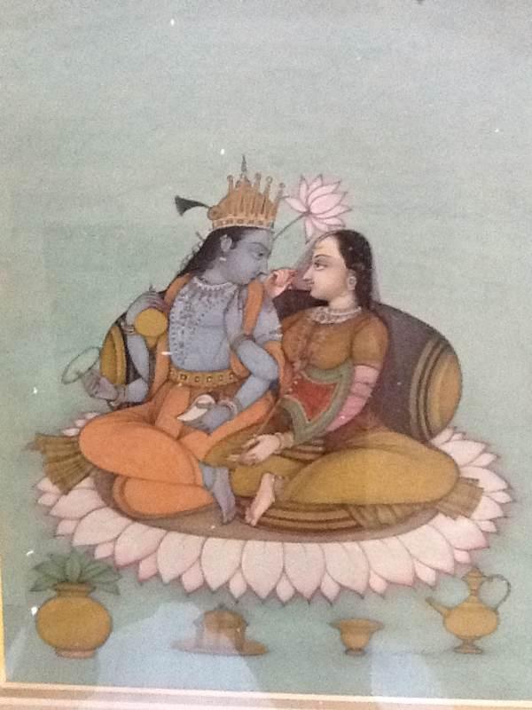 Radha And Krishna (geet-govinda)