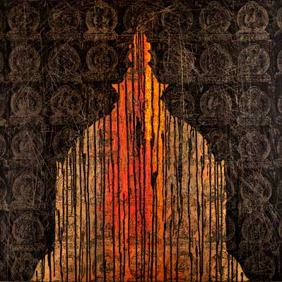 Black Buddha VII