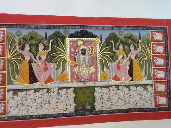 Shrinataji And Gopis