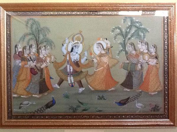Dandiya Rasa Radha And Krishna