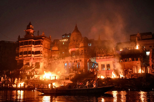 Manikarnika Ghat - Varanasi