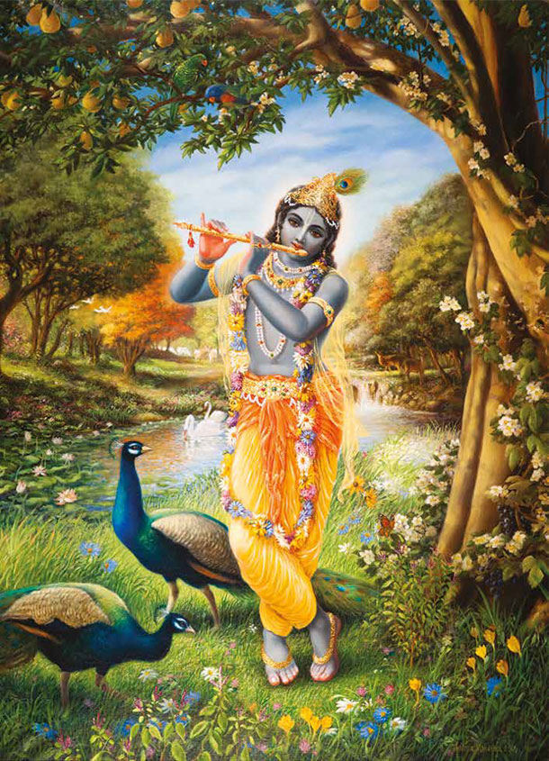 Krishna, the Flute Player