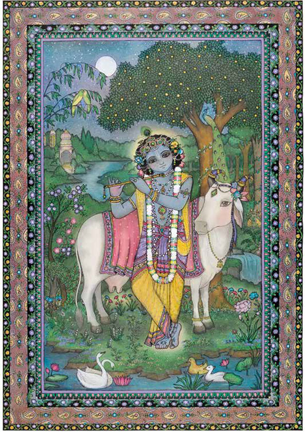 Krishna, Cowherd Boy of Vrindavan