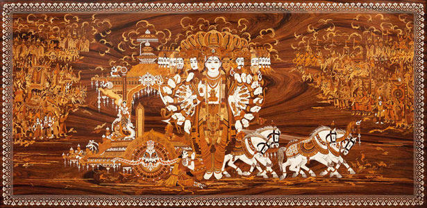 Vishvarupa : Krishna's Universal Form