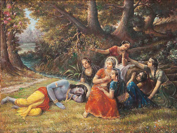 Gopis Play Prank on Krishna