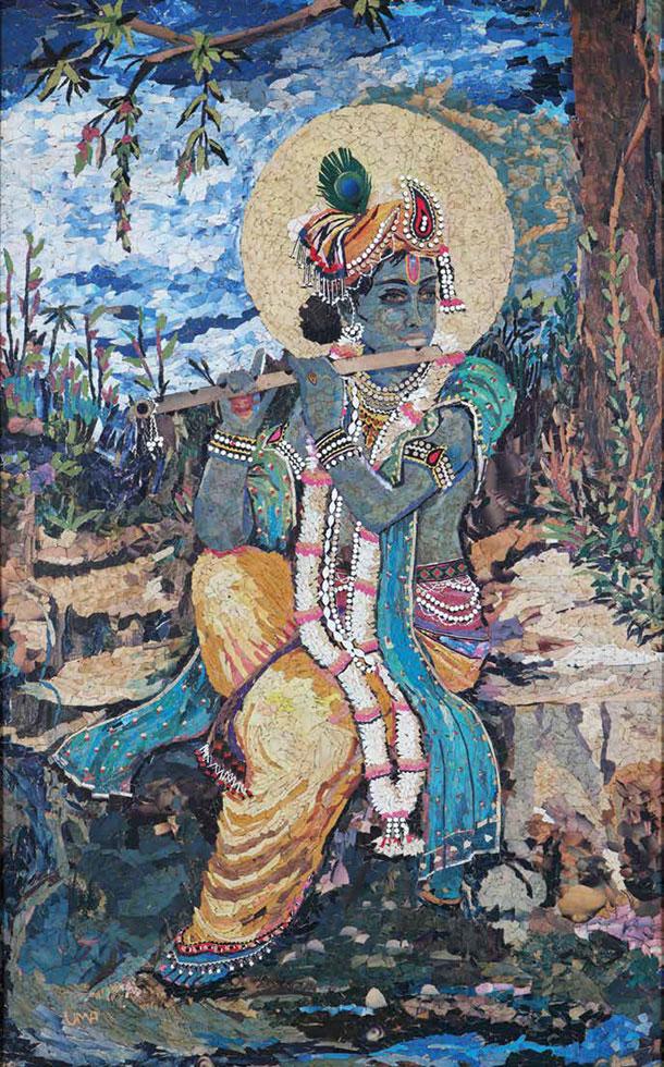Sri Krishna with Flute