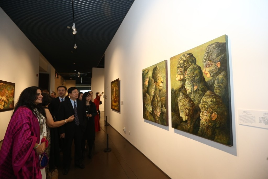 Opening of Exhibition `Forms of Devotion: The Spiritual in Indian Art' at China Art Museum